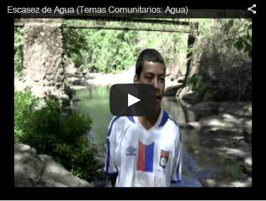 Video escasez del agua El Salvador