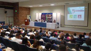 Imagen del congreso habitat, migraci??n y justicia restaurativa en auditorio ICAS de la UCA